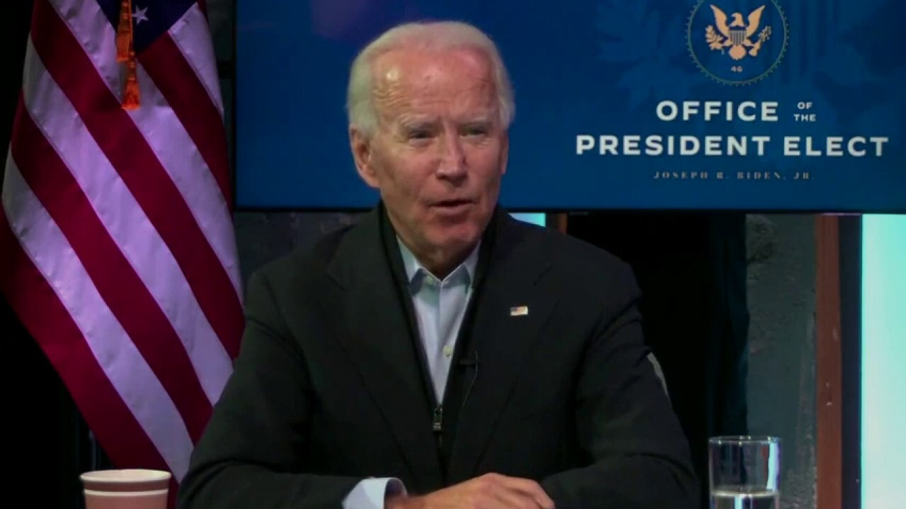 Biden: 'We should be further along' in the transition process