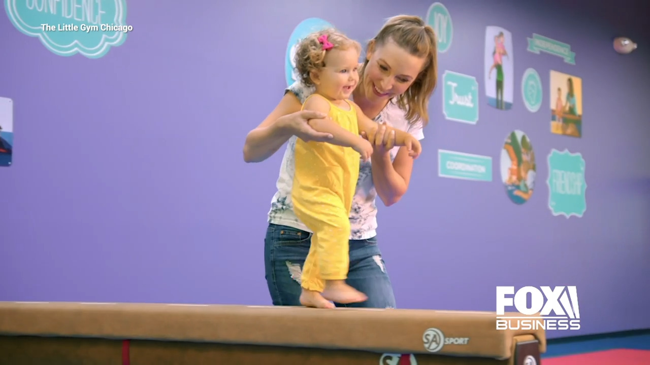 Adam Stone, owner of The Little Gym in Chicago, spoke to Fox Business about how he quickly shifted his children's gym franchise following the coronavirus outbreak.