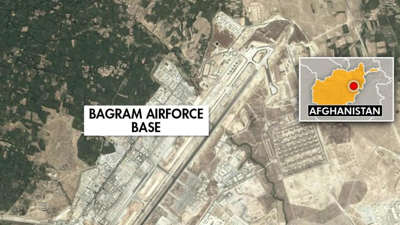 ISIS fires rockets at Bagram Airfield in Afghanistan