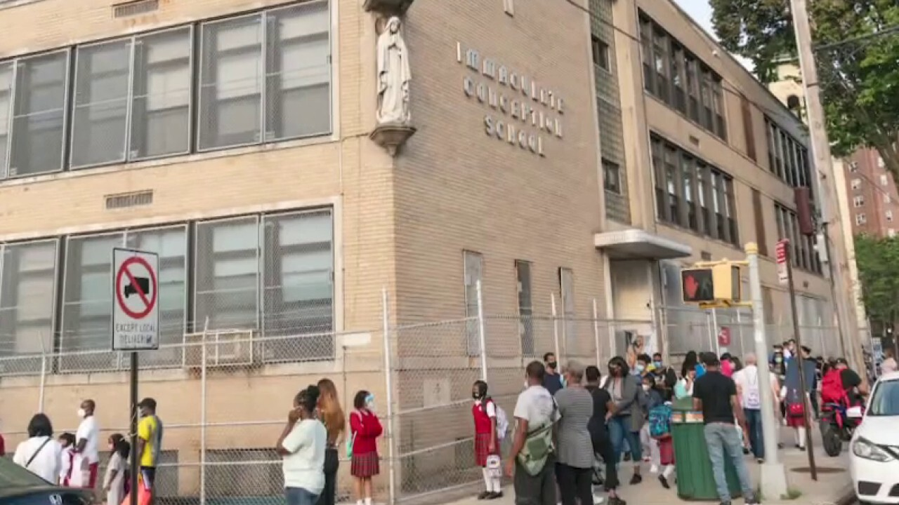 Catholic schools thriving as public school parents make switch during pandemic