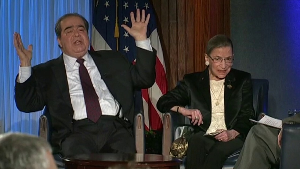 Son of late Antonin Scalia remembers the bond his father shared with Justice Ginsburg