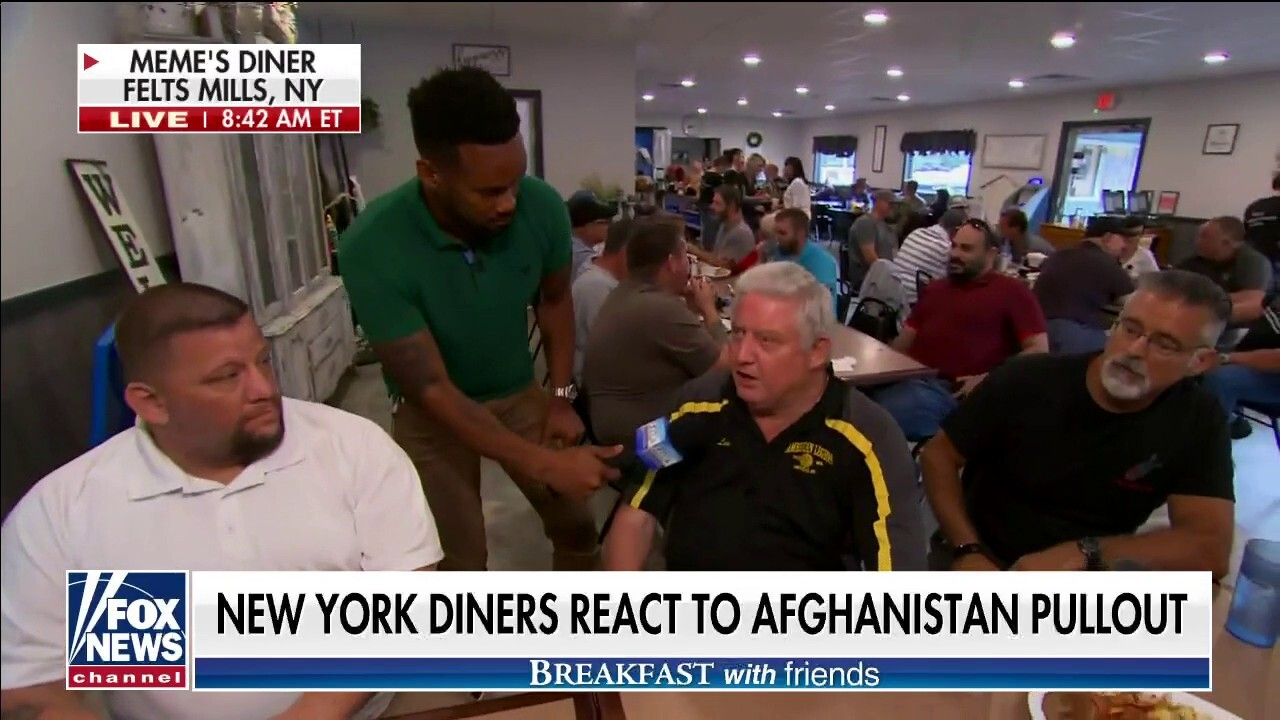 'Breakfast with Friends': New York diners react to Afghanistan pullout