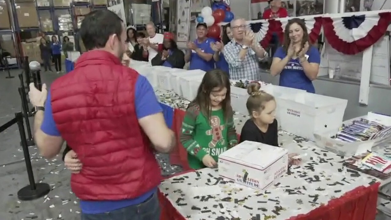 Non-profit helps donate care packages to troops, families