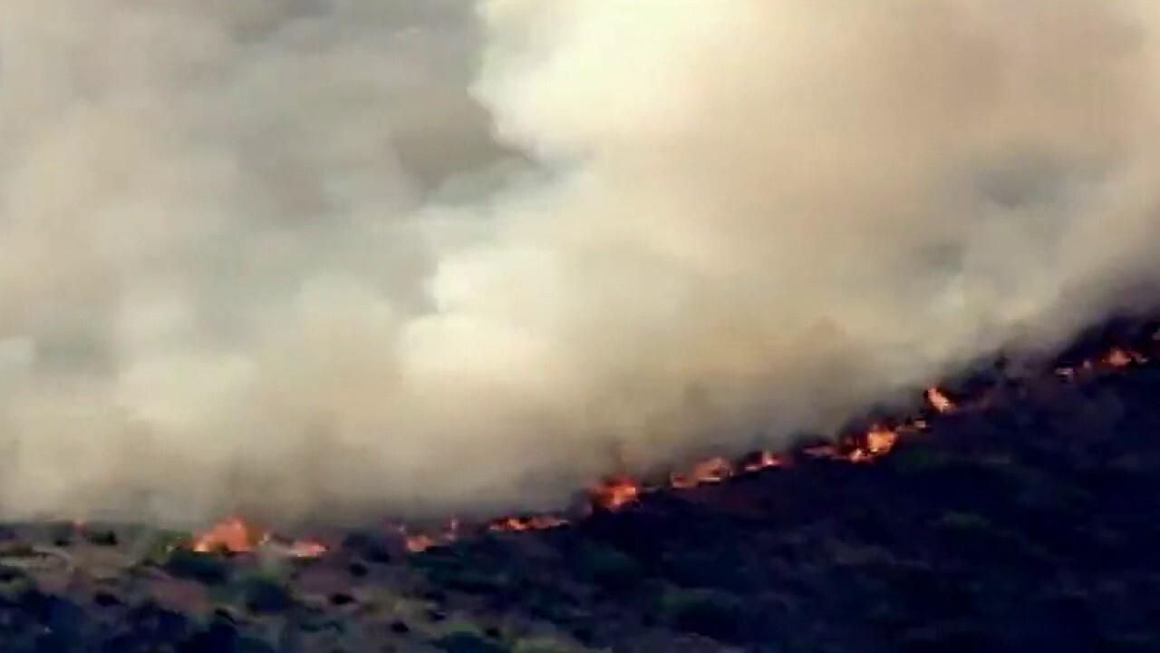Arizona wildfire now largest burning in US