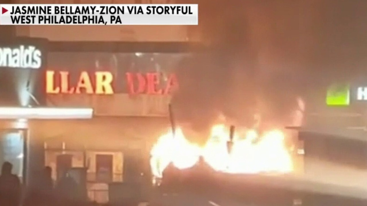 Riots breakout in Philadelphia after fatal police shooting