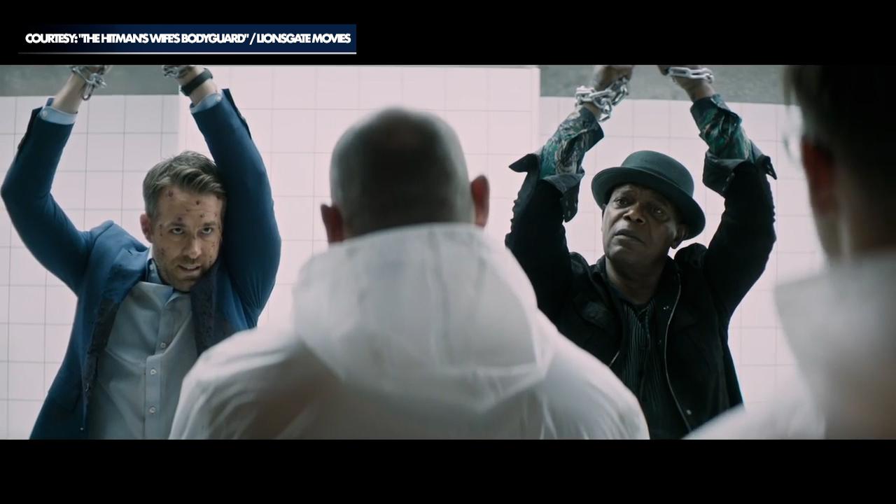 Ryan Reynolds, Salma Hayek star in new film 'The Hitman's Wife's Bodyguard'
