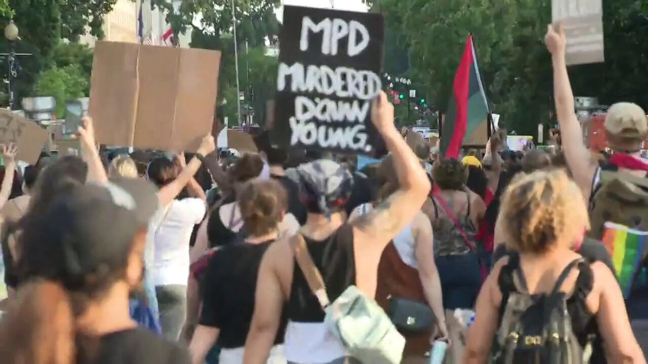 Protests continue in Washington, DC