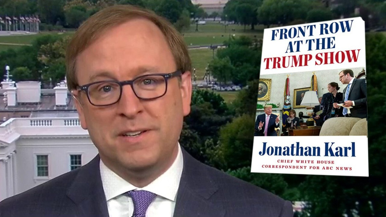 ABC's Jon Karl on releasing new book, 'Front Row at the Trump Show'