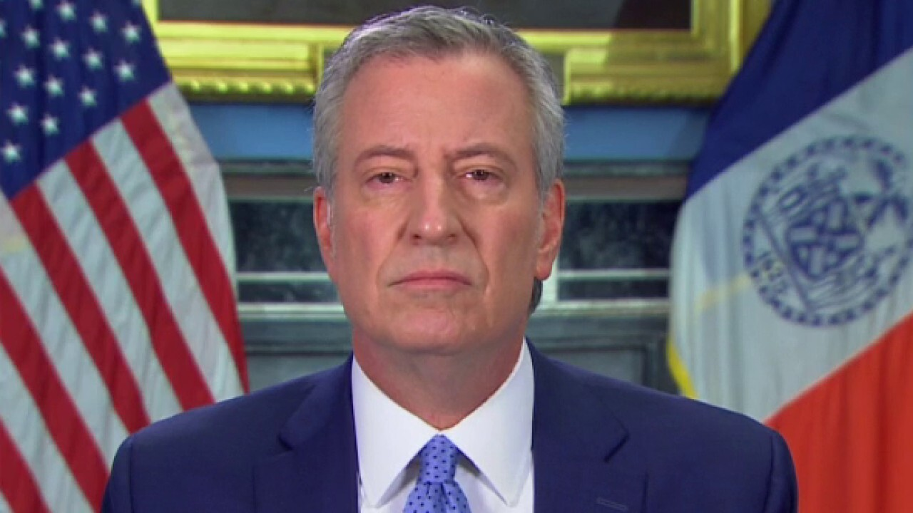 De Blasio warns NYC hospitals will go broke during COVID-19 if they don't get direct support