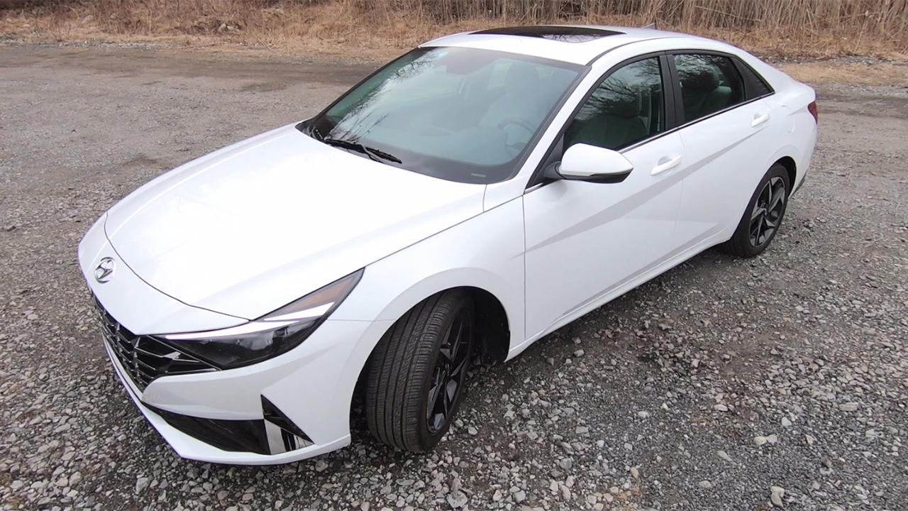 Test drive: 2021 Hyundai Elantra