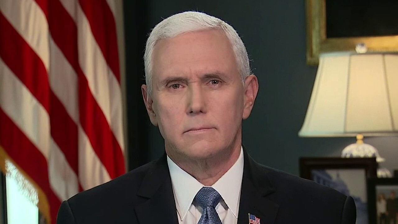 Vice President Mike Pence, head of the White House coronavirus task force, joins Chris Wallace on 'Fox News Sunday.'