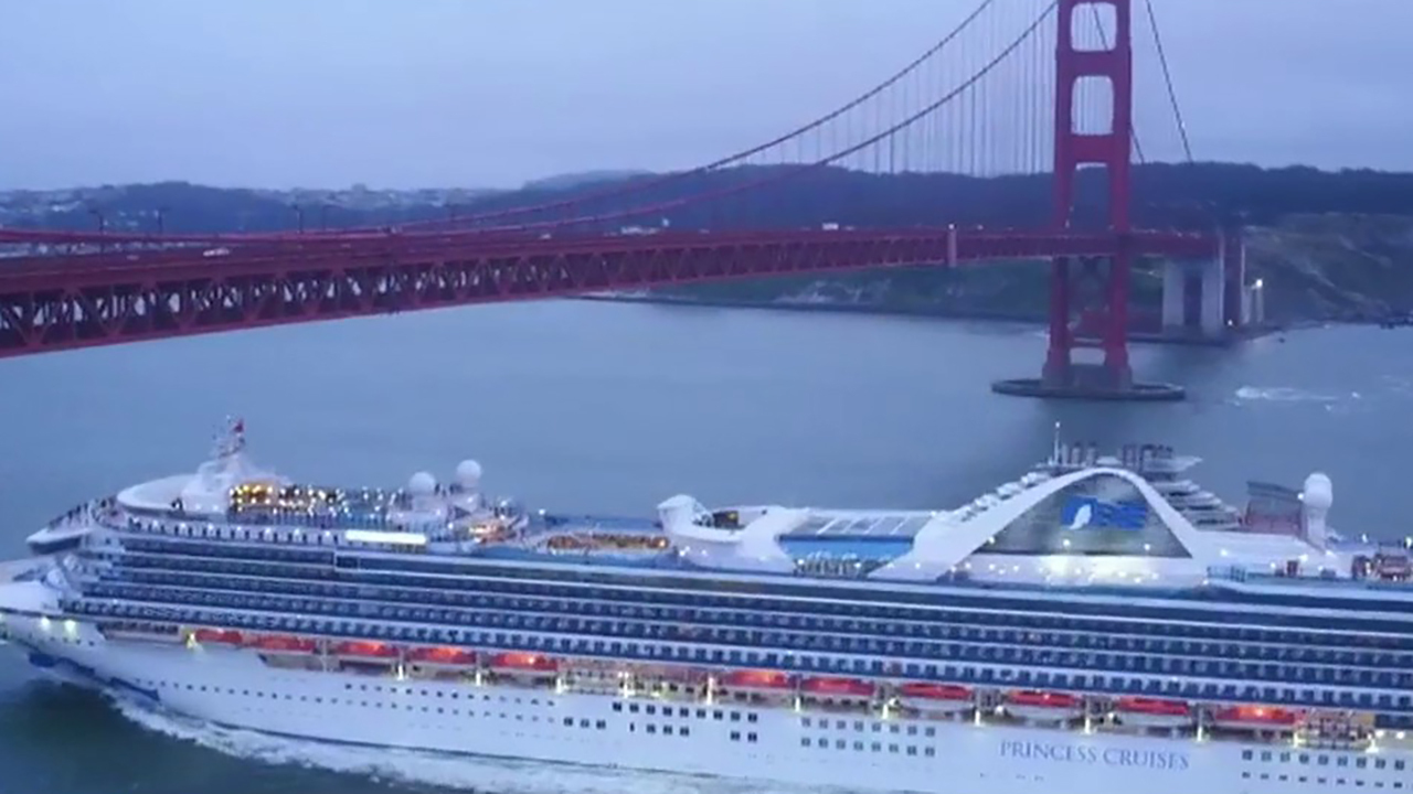 Cruise ship linked to fatal US coronavirus case quarantined off California coast