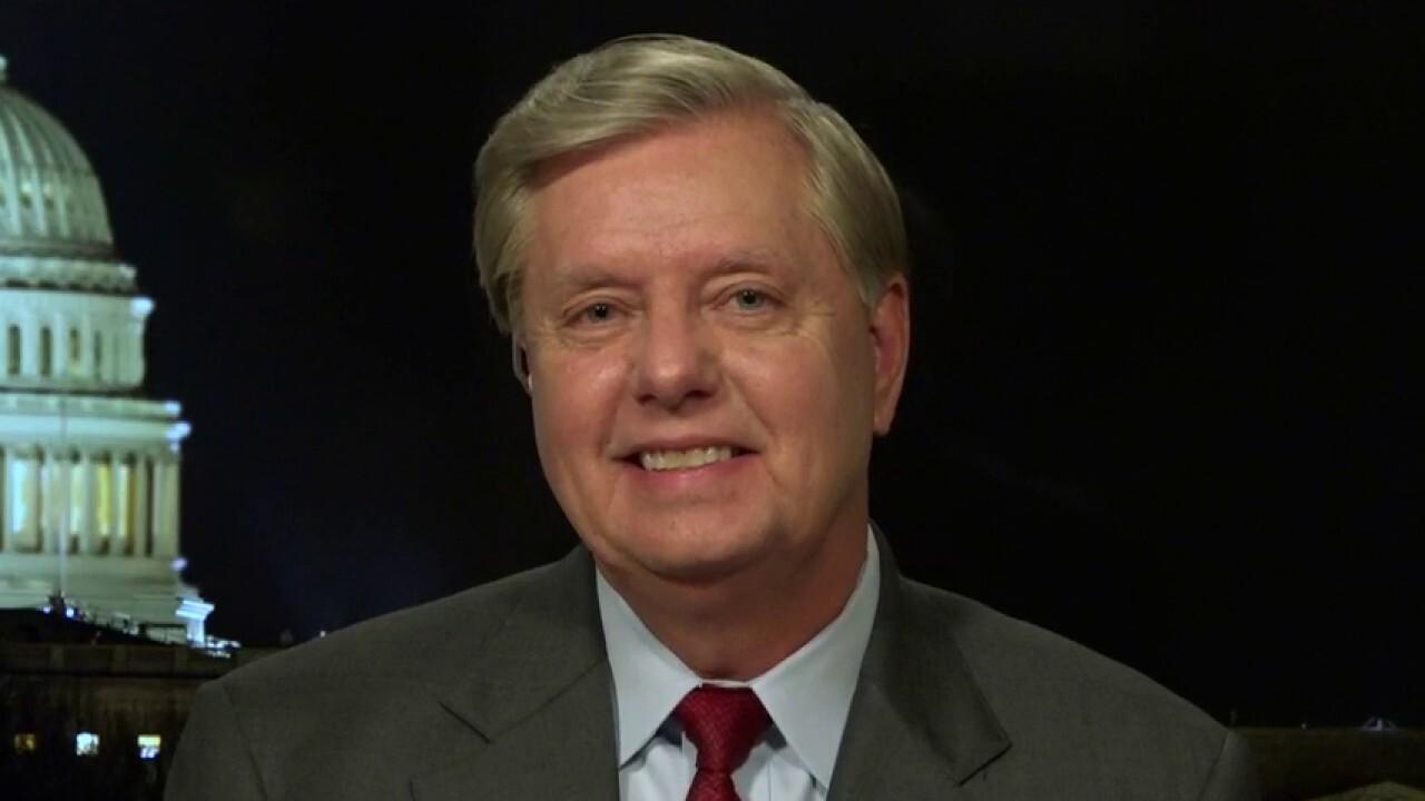 Sen. Lindsey Graham on stunning revelations from Rod Rosenstein's Senate testimony