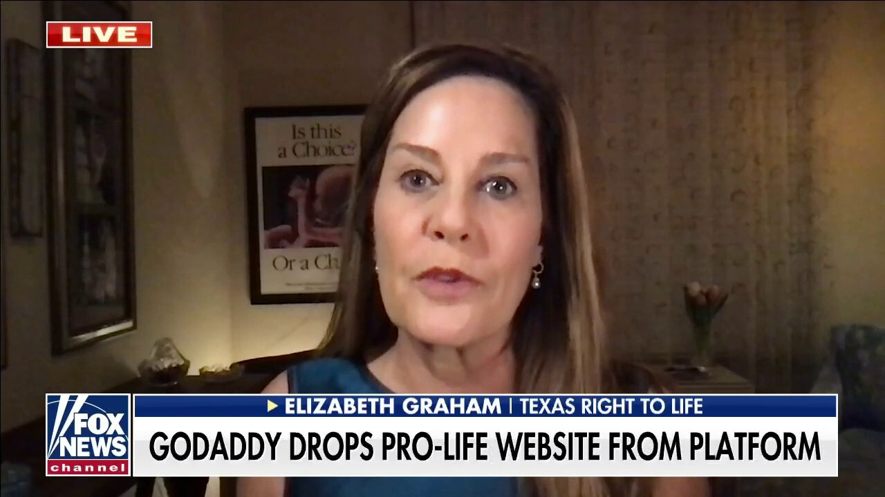 Texas Right to Life has website shut down by GoDaddy