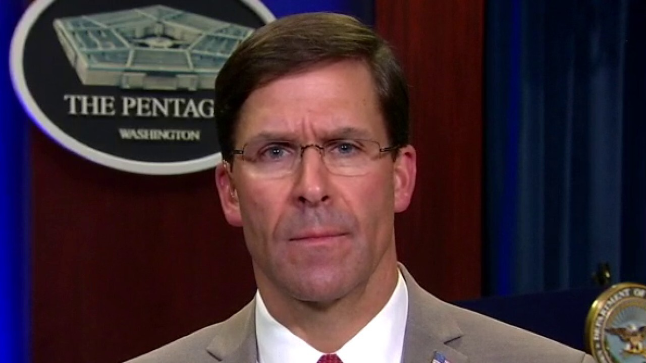 Defense Secretary Mark Esper says US military is leaning forward to help slow the coronavirus pandemic