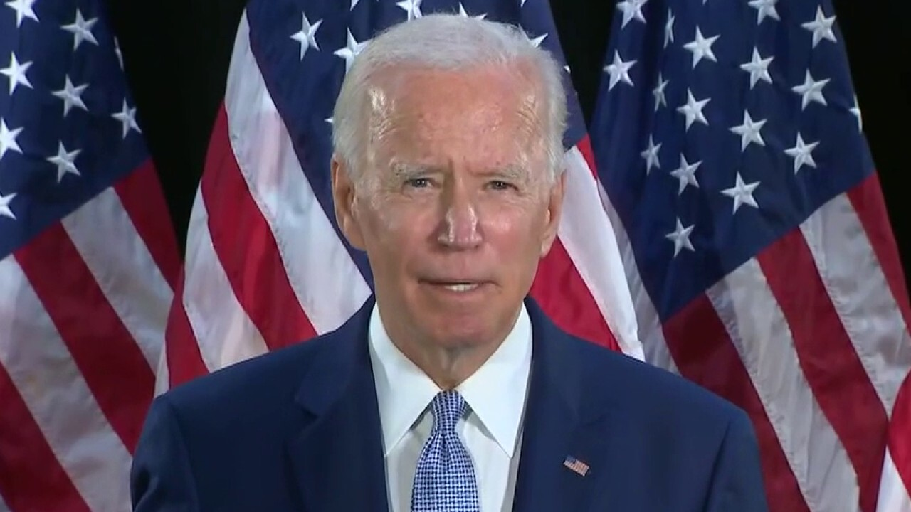 2020 Democracy: Biden reacts negatively to positive job report