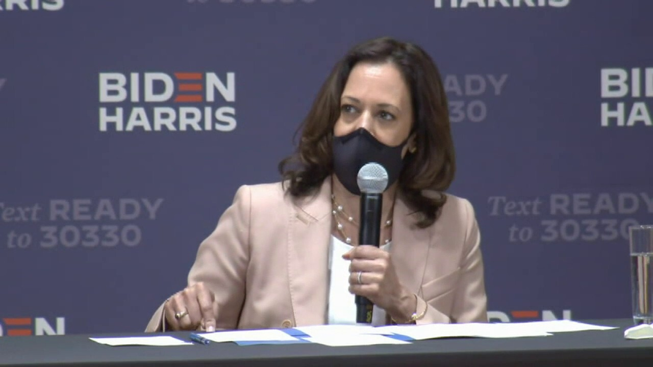 Kamala Harris says President Trump is not concerned about the health and safety of the American people