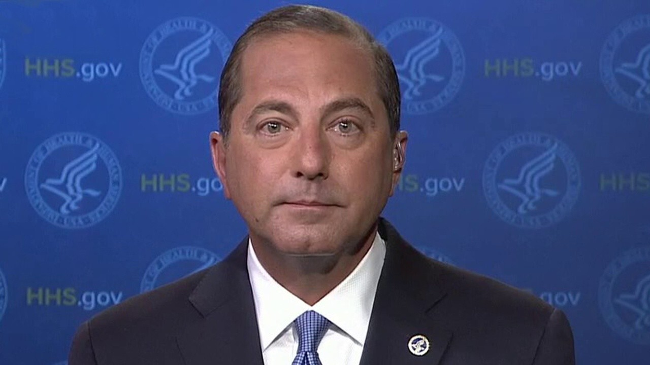 HHS secretary on deal with Pfizer on COVID-19 vaccine, Democrat pushback on Remdesivir