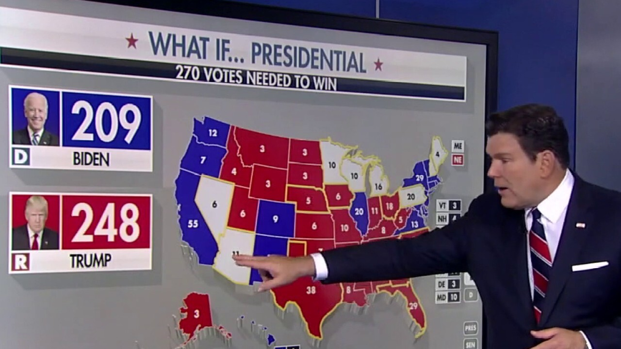 The key states most likely to decide who wins the White House, Senate