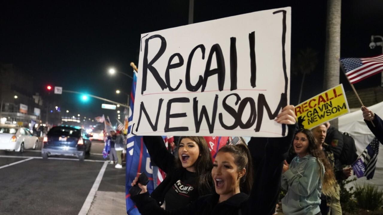 CA voters on Gov Newsom recall election