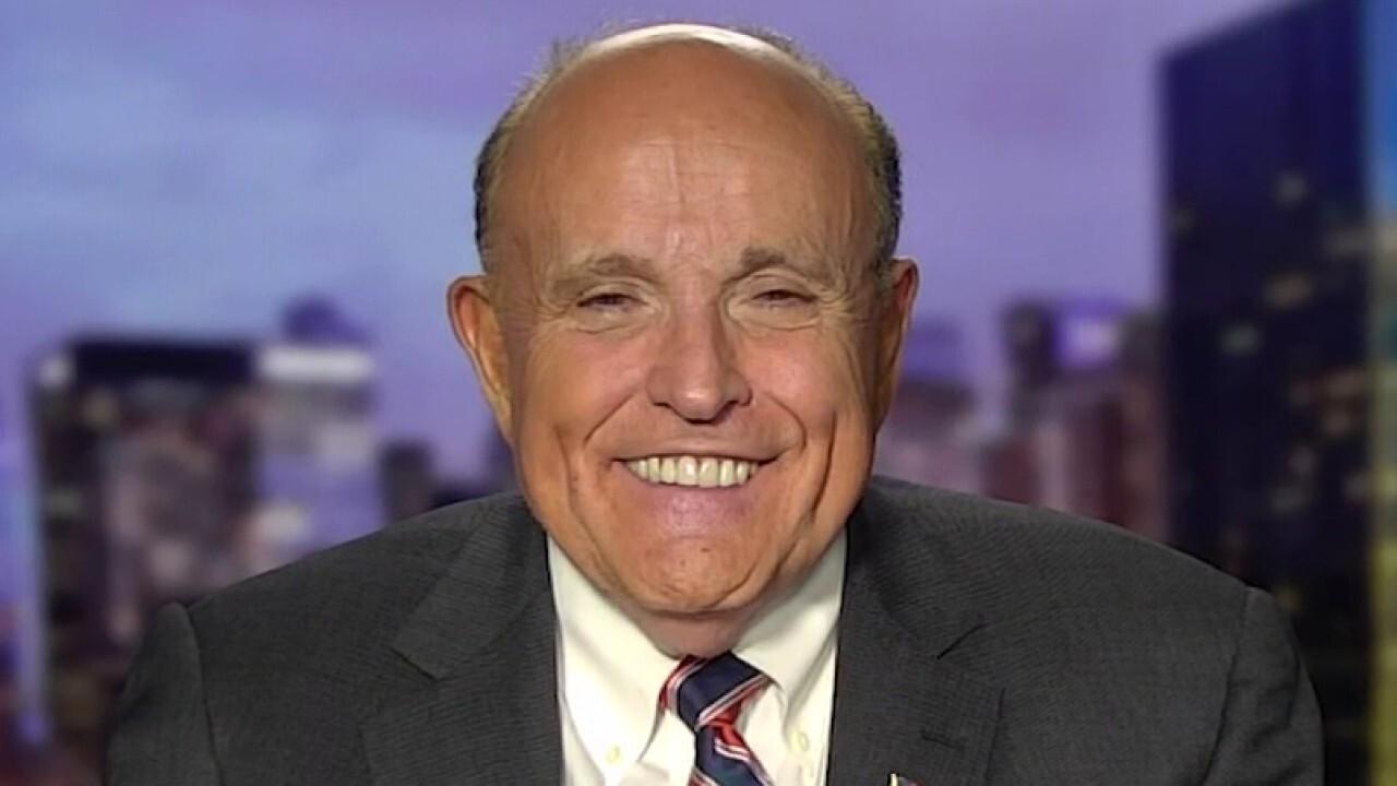 Rudy Giuliani hits back at Democrats' pandemic politics