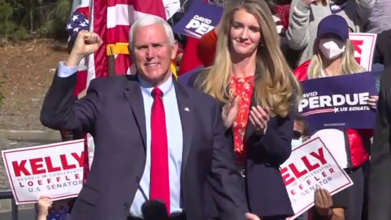 LIVE UPDATES: Mike Pence campaigns in Georgia for GOP Senate runoff candidates