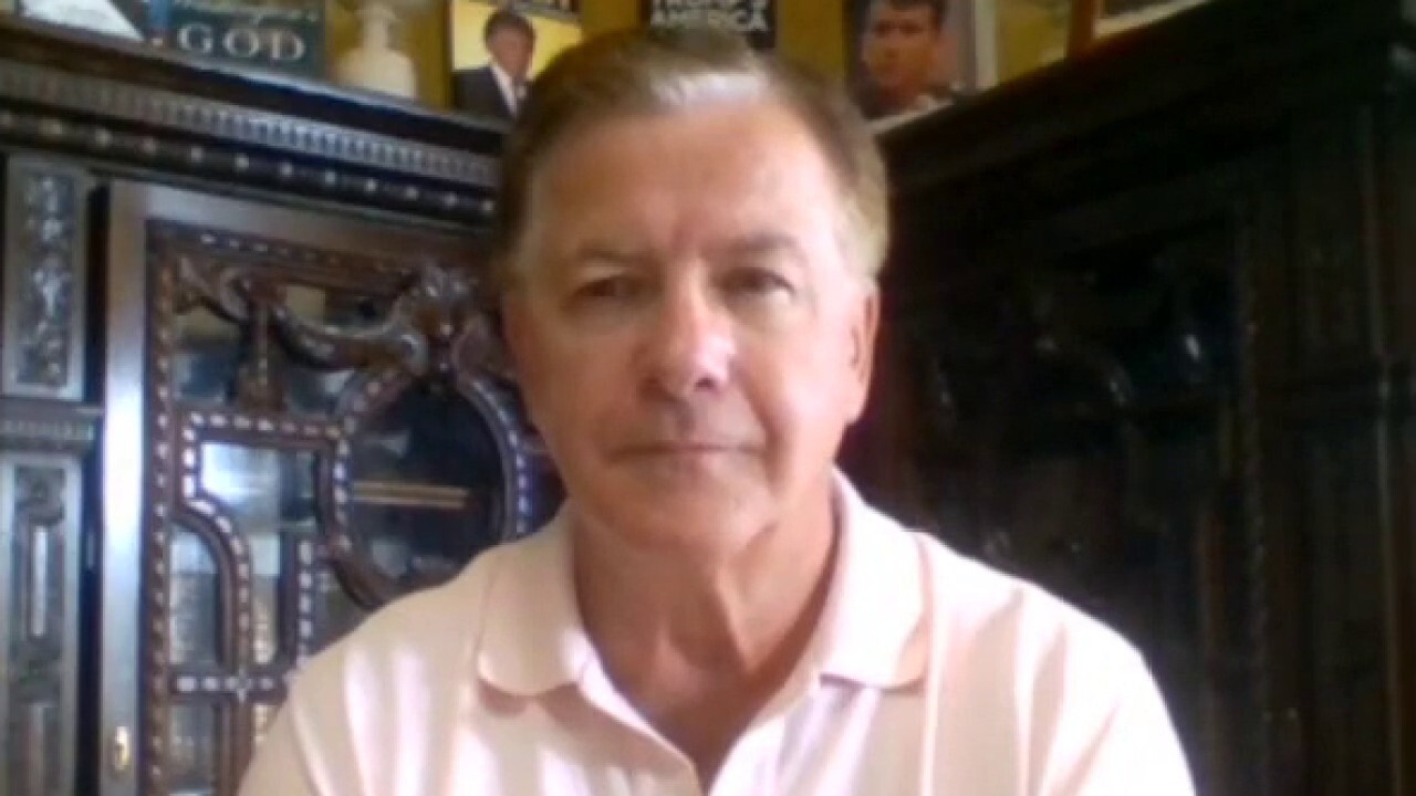 Westlake Legal Group image St. Louis home defender Mark McCloskey updates 'Watters' World' on possible charges Victor Garcia fox-news/us/us-regions/midwest/missouri fox-news/us/us-protests fox-news/us/personal-freedoms/second-amendment fox-news/us/personal-freedoms fox-news/travel/vacation-destinations/st-louis fox-news/shows/watters-world fox-news/media/fox-news-flash fox-news/media fox news fnc/media fnc article 3ac932a7-71e9-5c0d-a301-436f5be5ff17