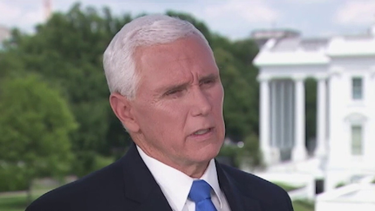 VP Pence opens up on healing the country amid the George Floyd unrest