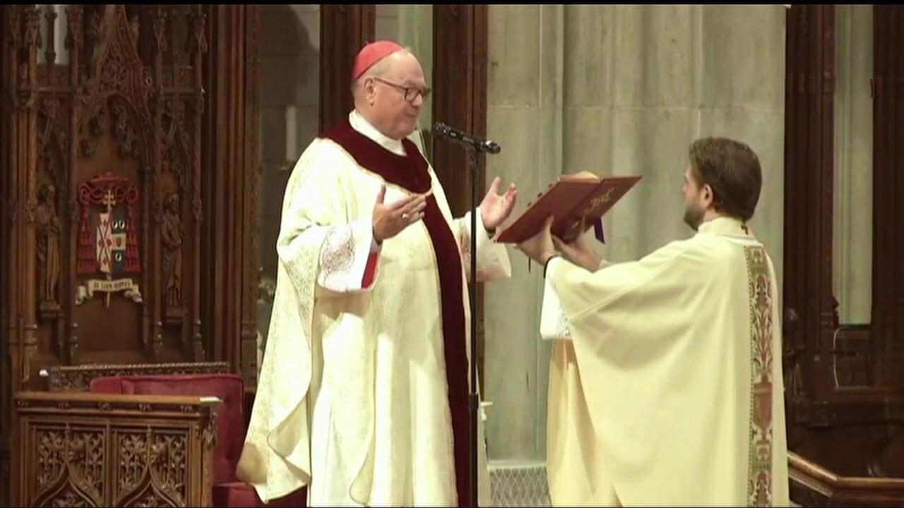 Saint Patrick's Cathedral Mass: Friday, May 29