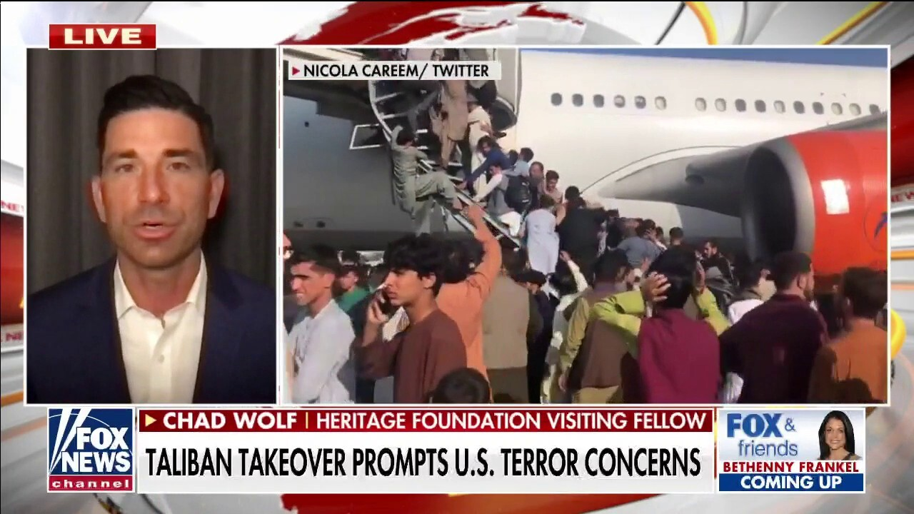 Chad Wolf: Biden administration 'has no plan, created crisis in Afghanistan'