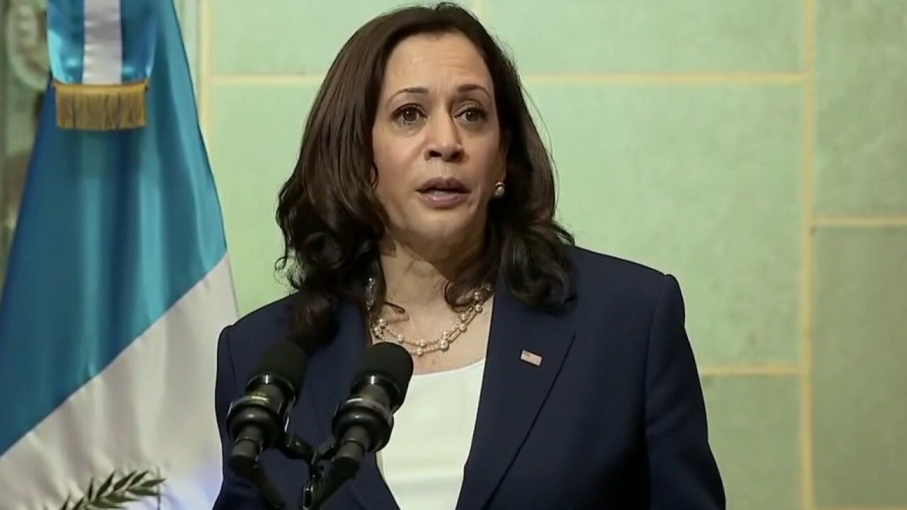 Kamala Harris responds to criticism about border comments