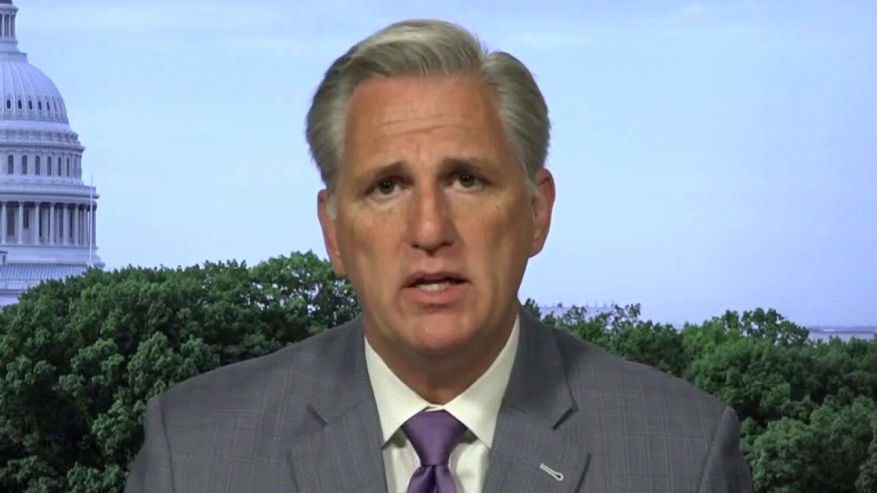 Rep. McCarthy on Russia bounty allegations, COVID-19 spread and calls for Trump to wear a mask