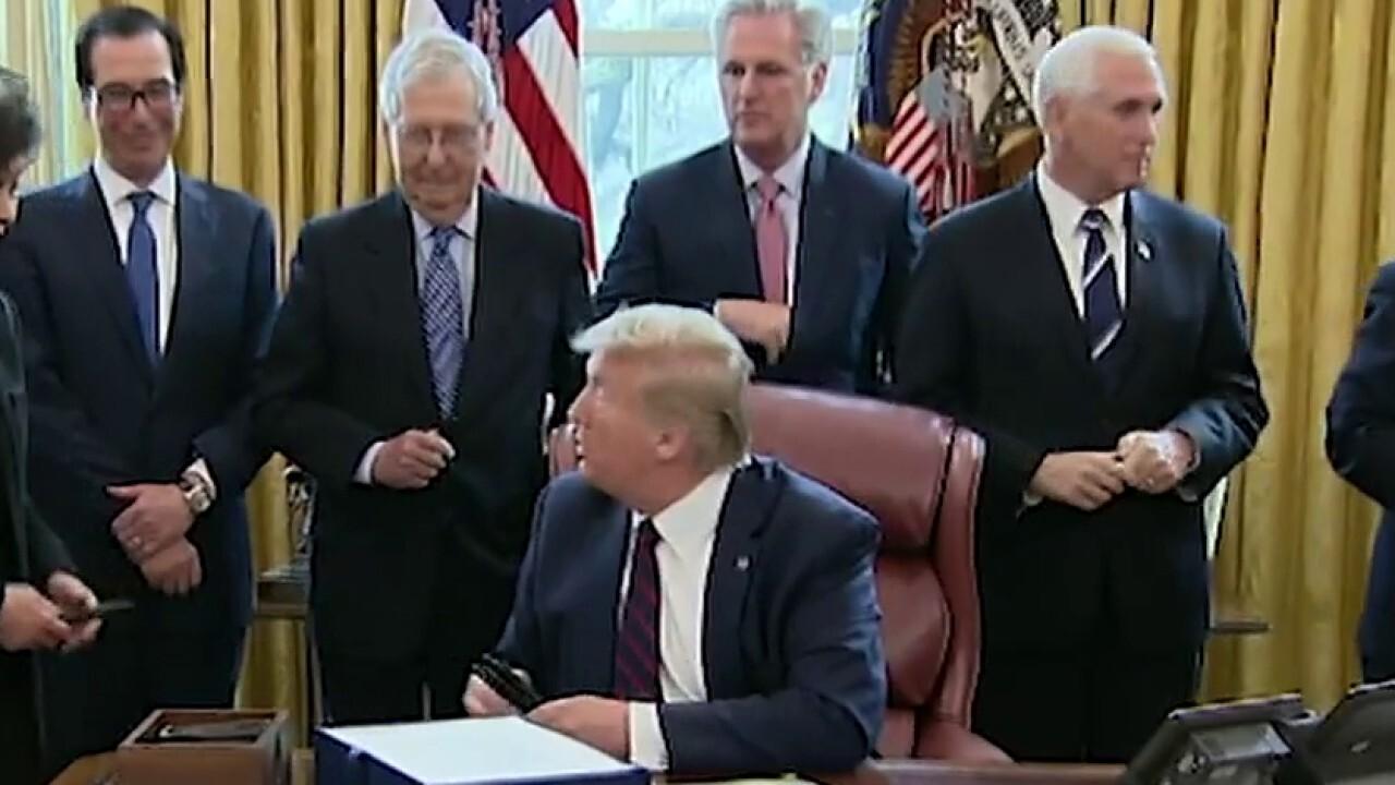 White House trade adviser Peter Navarro on President Trump ordering GM to ramp up production of ventilators
