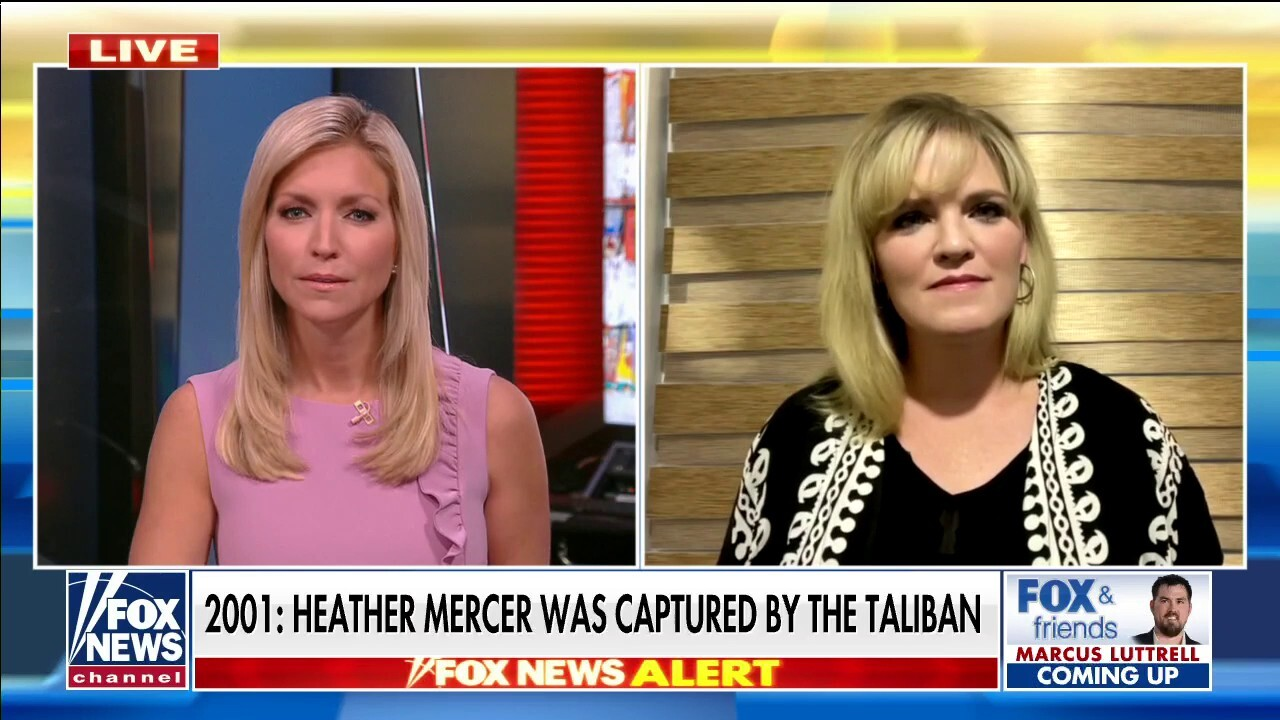 Woman held hostage by Taliban describes 'terrifying' experience
