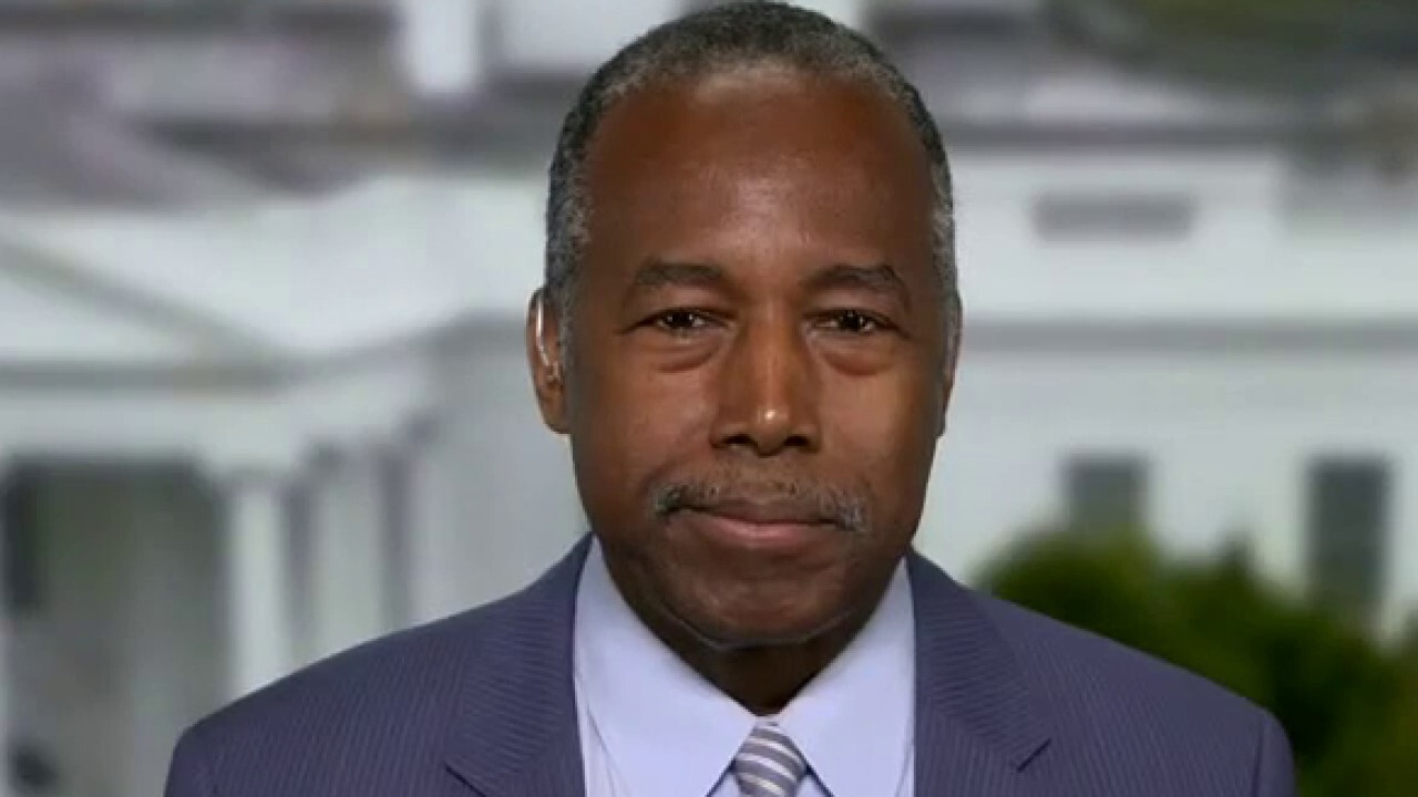 Dr. Ben Carson: Attitude on COVID from White House 'fostered lack of trust'