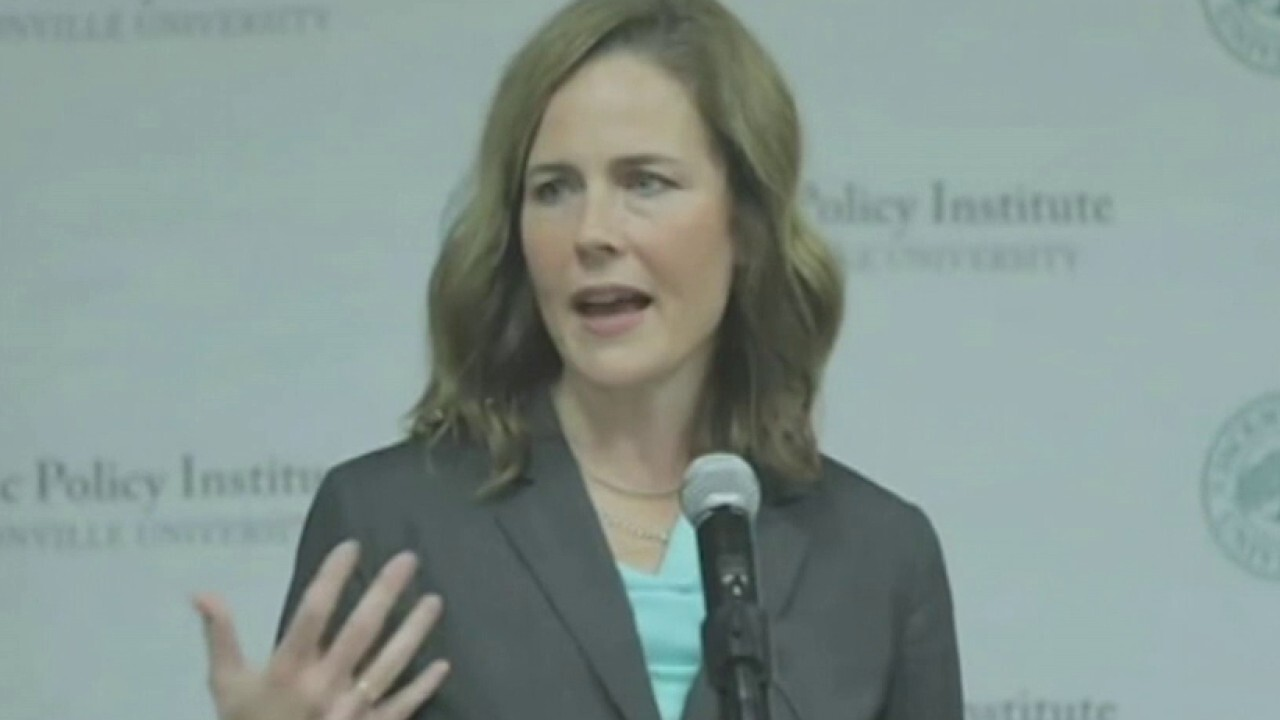 Conservatives slam media for 'attacks' on Judge Amy Coney Barrett's faith