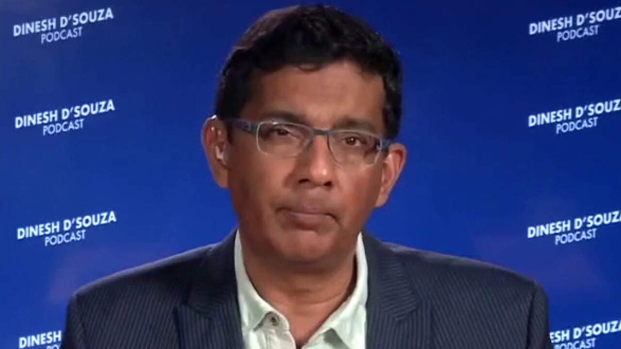 Dinesh D'Souza condemns 'progressive radicalism' and the push for CRT