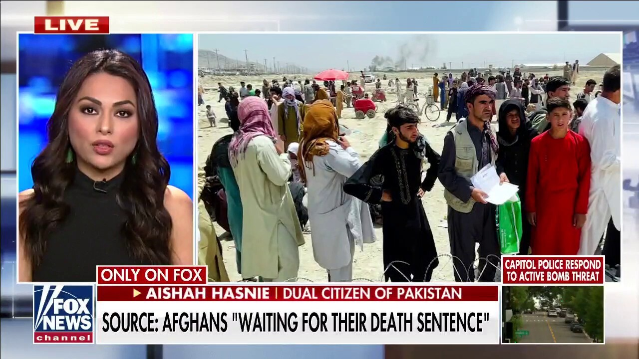 Afghans 'waiting for their death sentence' amid Taliban takeover