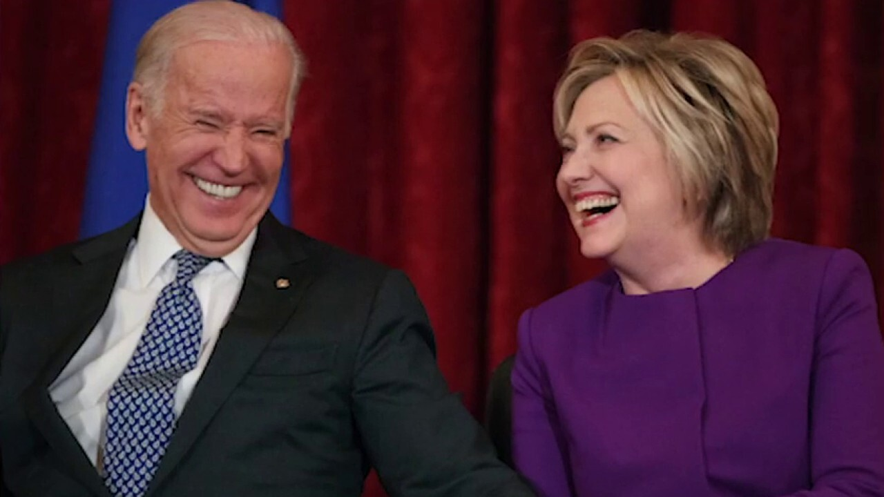 Is Hillary Clinton waiting in the wings should Joe Biden withdraw from the 2020 race?
