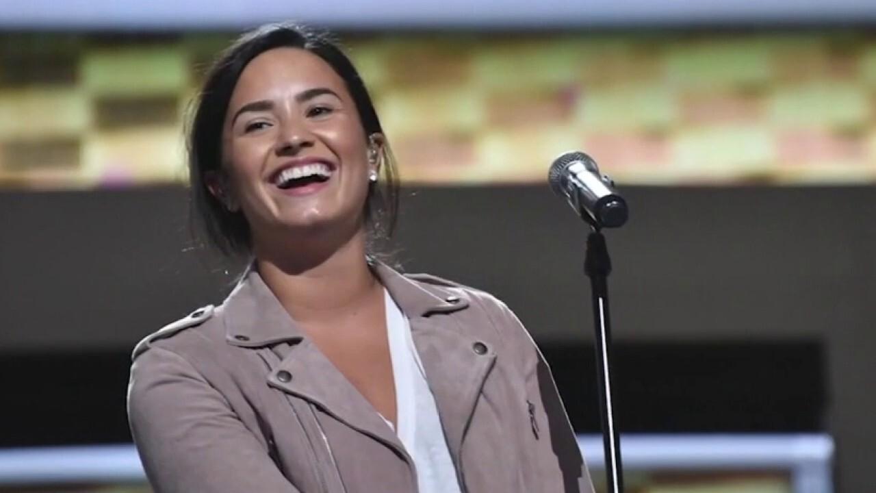 Piers Morgan slams Demi Lovato for shaming frozen yogurt shop