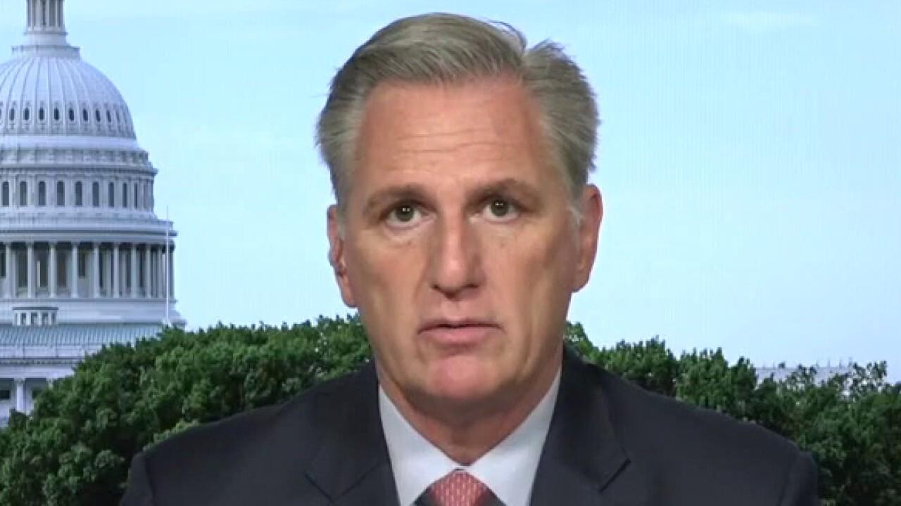 Kevin McCarthy slams Nancy Pelosi as 'lame duck speaker'