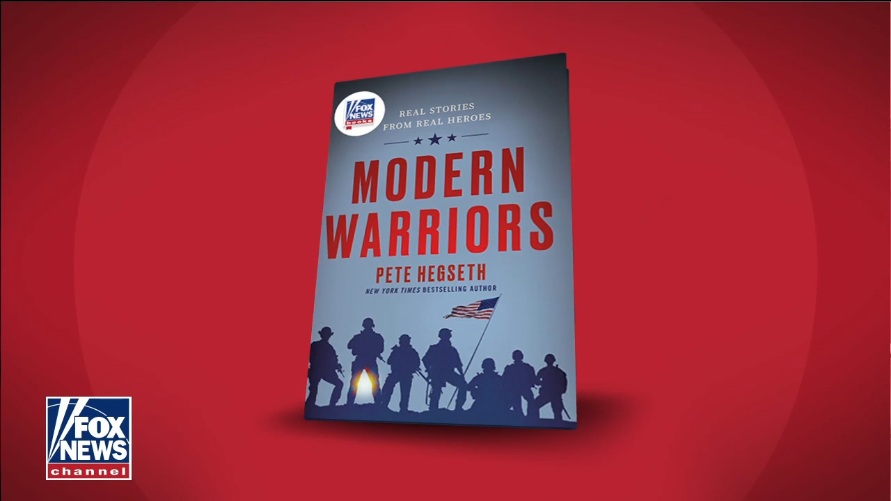 Pete Hegseth's book 'Modern Warriors' nears top of Amazon list of best selling new releases