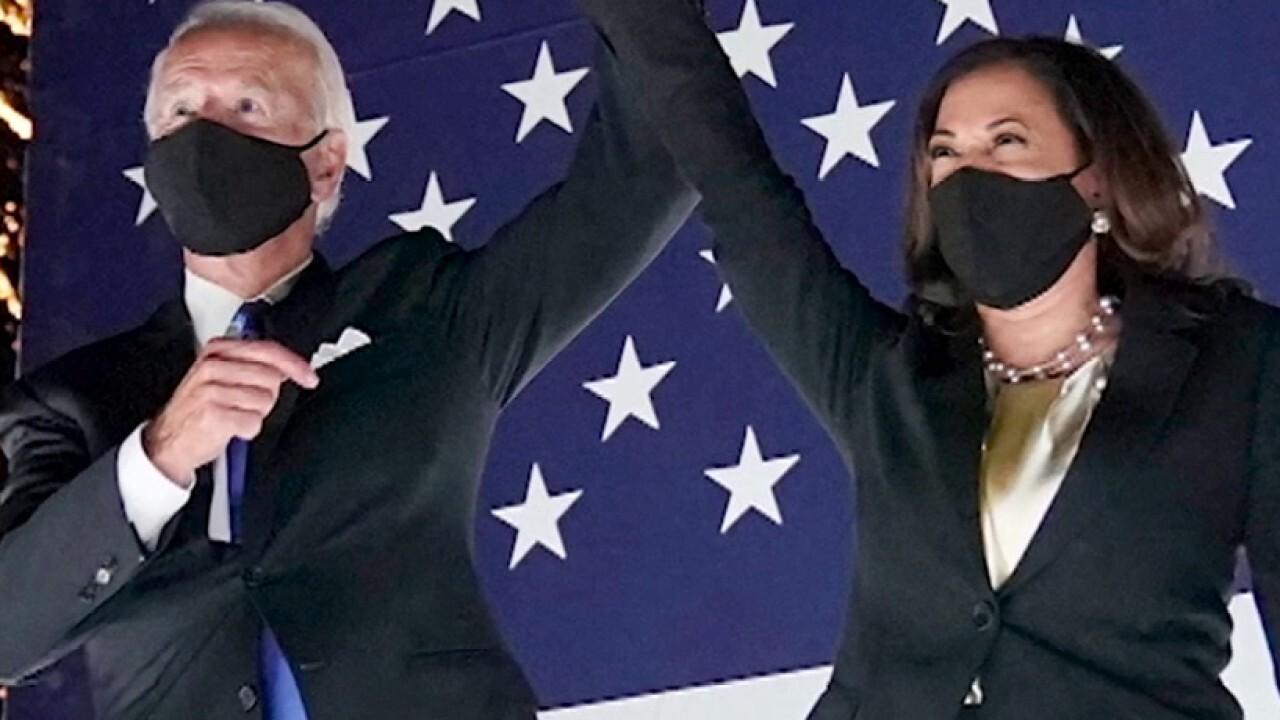 Biden, Harris allege double standard in treatment of protesters