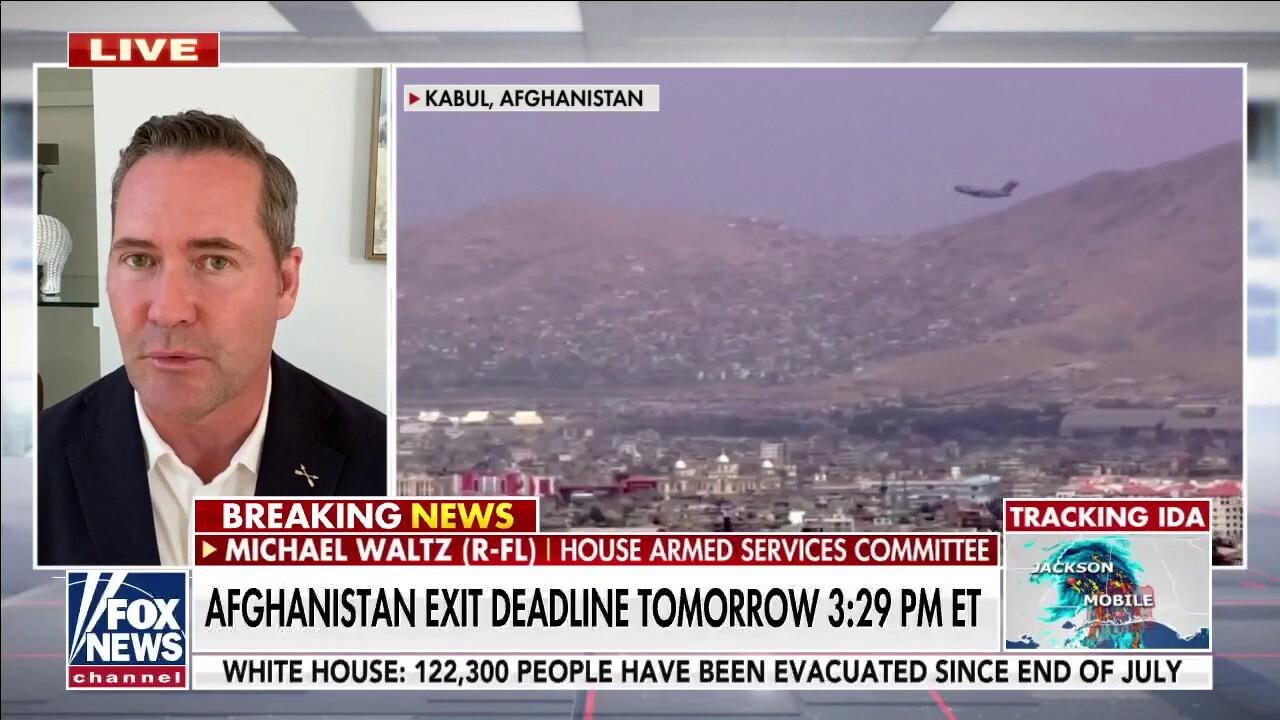 Taliban has leverage in Afghanistan over Biden admin: Rep. Waltz