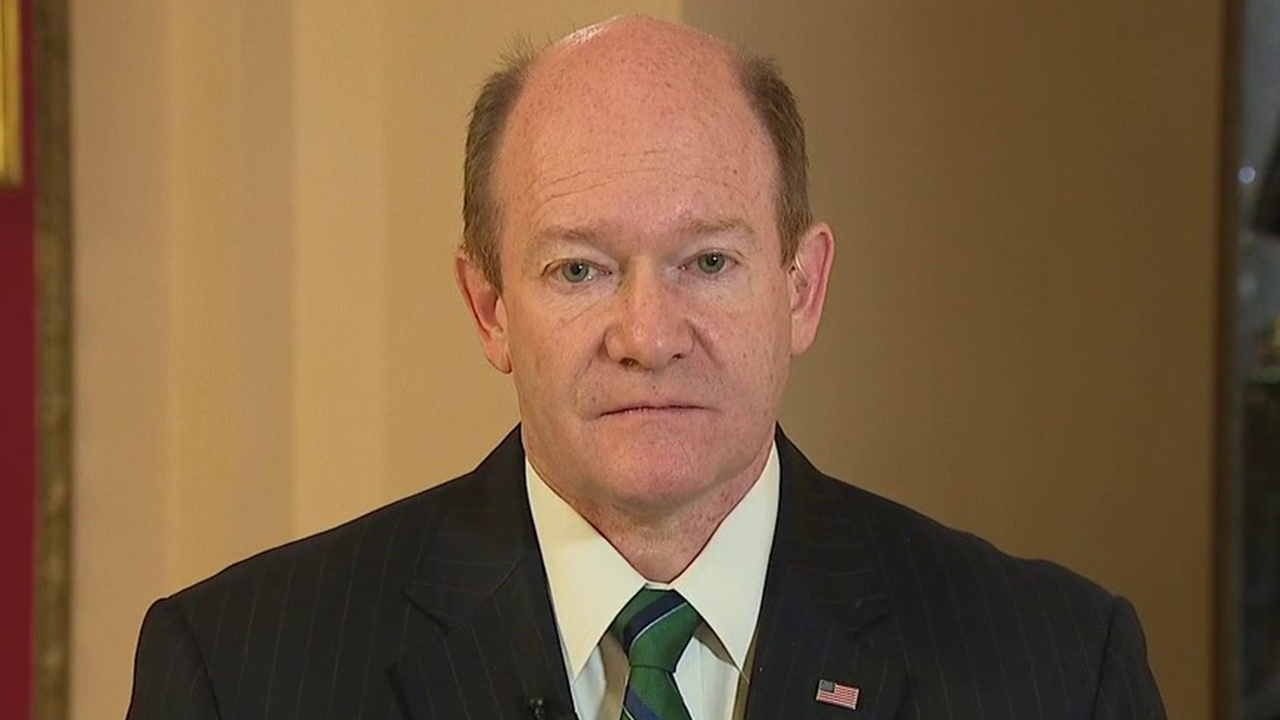Sen. Coons on coronavirus relief bill: US needs to provide several rounds of stimulus to sustain economy