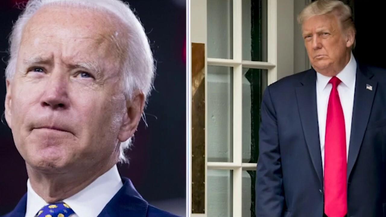 Polls tightening between President Trump, Joe Biden in key swing states