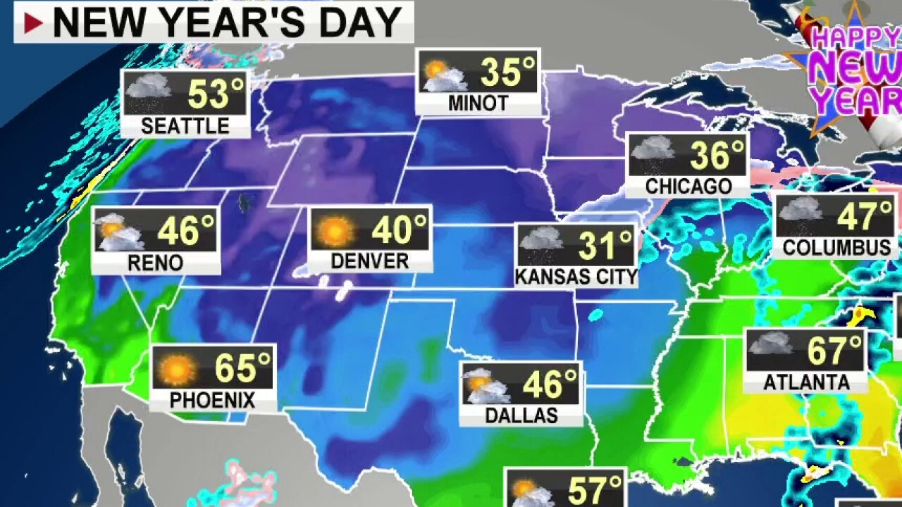 National forecast, Dec. 31