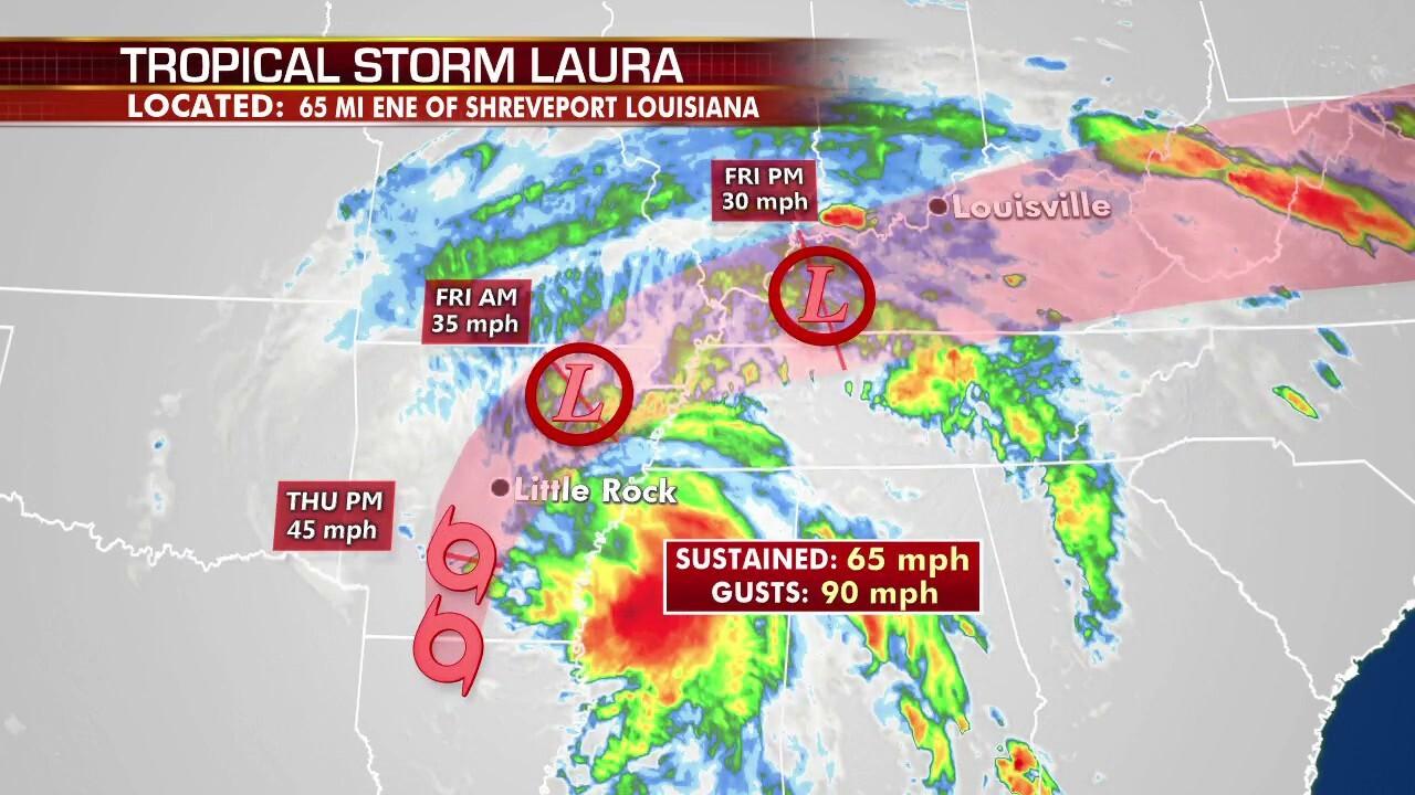Hurricane Laura delivers devastating blow to Louisiana's Cajun Riviera