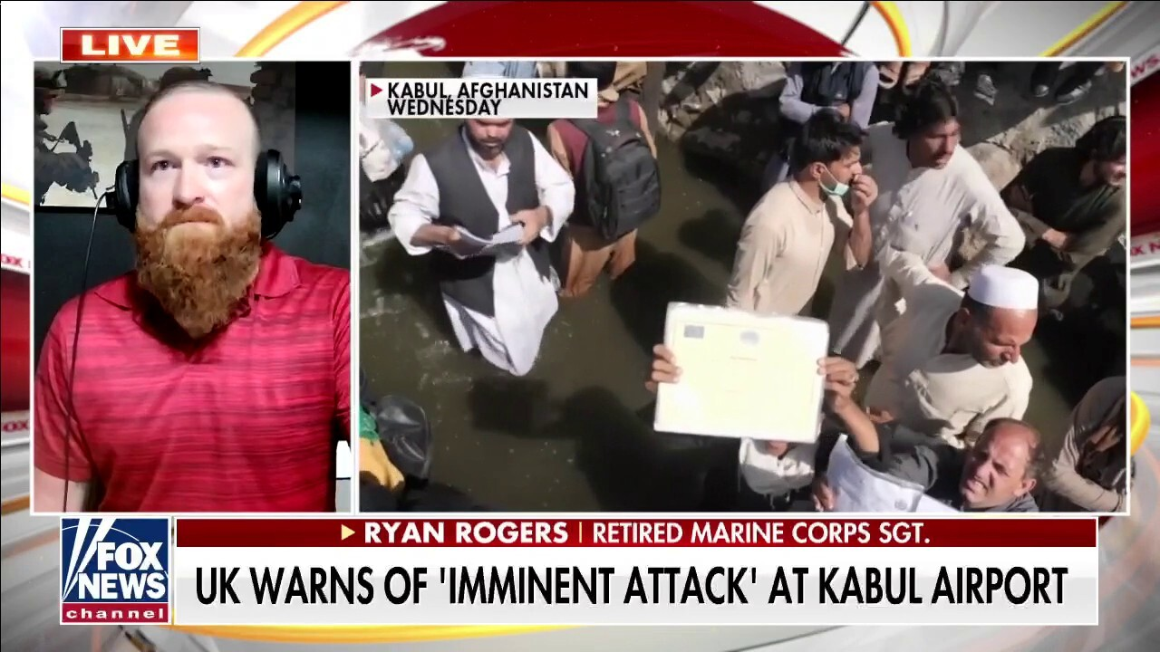 Retired Marine on abandoning Afghan allies: 'We can't leave these people behind'