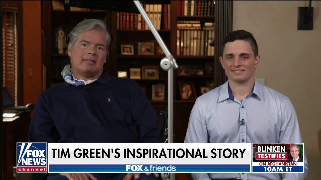Former NFL player Tim Green opens up about ALS diagnosis
